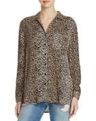 Beachlunchlounge Leopard Print Blouse