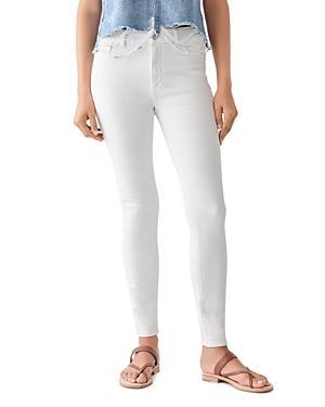 Dl1961 Florence Skinny Jeans In Milk