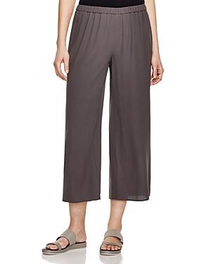 Eileen Fisher Petites Silk Culottes