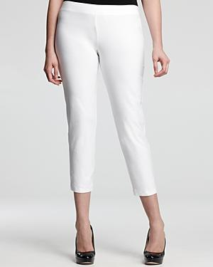 Eileen Fisher Plus Slim Ankle Pants