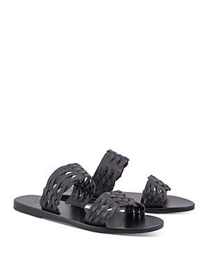 Ancient Greek Sandals Women's Melia Woven Slide Sandals