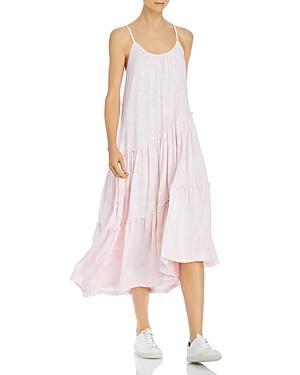Sundry Asymmetrical Tiered Dress