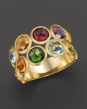 Marco Bicego Jaipur 2 Row Multi-stone Ring