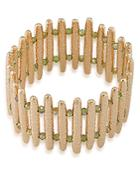 Abs By Allen Schwartz Bar Stretch Bracelet
