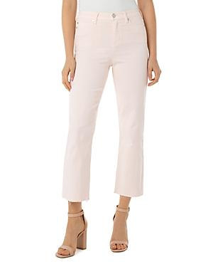 Liverpool Los Angeles Stevie High-rise Stovepipe Jeans In Dawn Pink