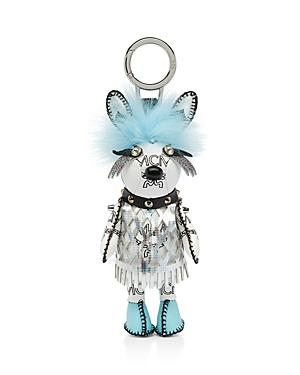 Mcm Rabbit Punk Fox Fur Bag Charm