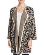 Joie Berit Leopard Print Cardigan