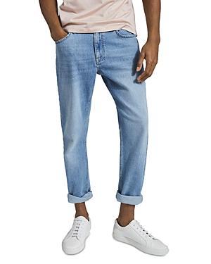 Reiss Sundridge Slim Fit Jeans In Light Blue