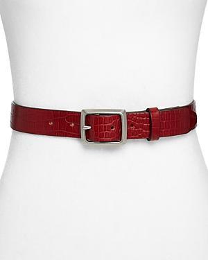 Rag & Bone Women's Boyfriend Italian Leather Belt