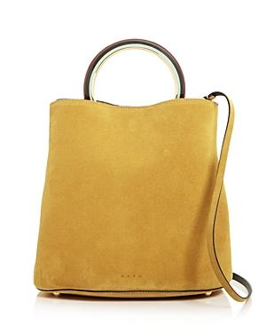 Marni Large Suede Bucket Bag