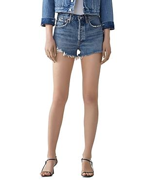 Agolde Parker High-rise Cutoff Jean Shorts
