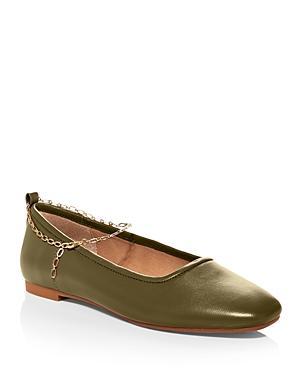 Aqua Women's Gabby Slip On Embellished Flats - 100% Exclusive