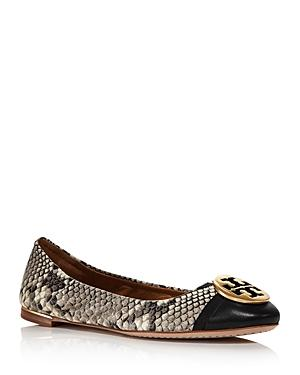 Tory Burch Women's Minnie Cap-toe Ballet Flats