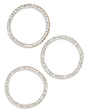 Baublebar Square Bead Stretch Bracelets, Set Of 3