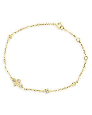 Bloomingdale's Diamond Station Bracelet In 14k Yellow Gold, 0.30 Ct. T.w. - 100% Exclusive