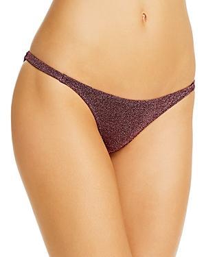 Caroline Constas Mykela Shimmer Bikini Bottom