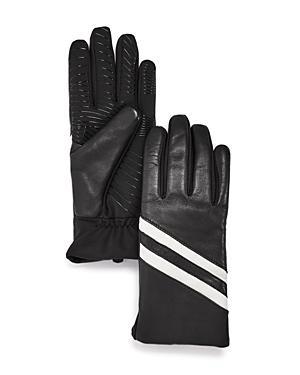 Ur Striped Detail Tech Gloves
