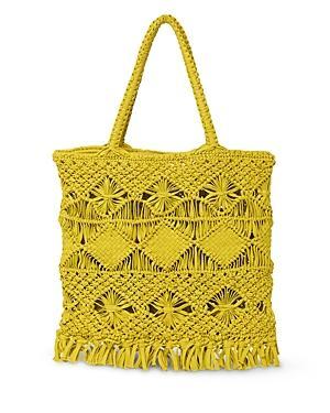 Whistles Clea Crochet Tote Bag