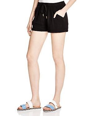 Three Dots Ema Drawstring Shorts