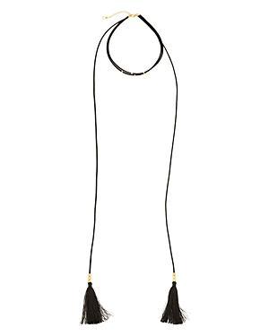 Gorjana Miller Layered Tassel Necklace, 12
