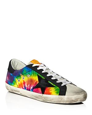 Golden Goose Deluxe Brand Unisex Superstar Tie-dyed Rainbow Sneakers - 100% Exclusive