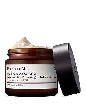 Perricone Md Face Finishing & Firming Tinted Moisturizer Spf 30 2 Oz.