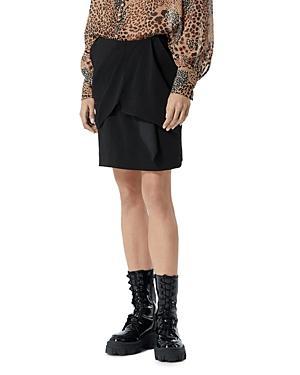 The Kooples Draped Wrap Skirt
