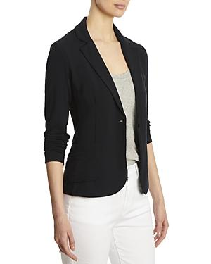 Majestic Filatures French Terry One Button Blazer