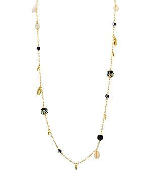 Rebecca Minkoff Bead & Shell Chain Necklace, 34