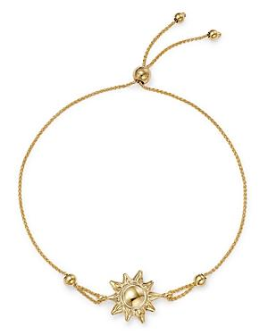 Bloomingdale's Sun Charm Link Bolo Bracelet In 14k Yellow Gold - 100% Exclusive