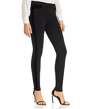 Paige Hoxton Ultra Skinny Jeans In Velvet Onyx