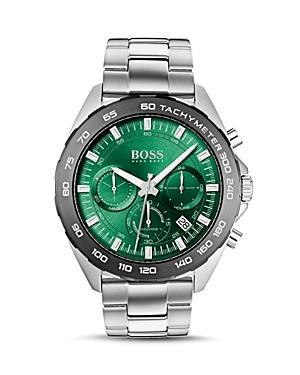 Boss Hugo Boss Intensity Green Dial Chronograph, 44mm
