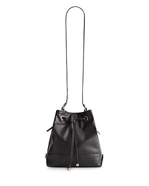 Gerard Darel Mini So Leather Bucket Bag