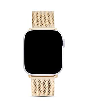 Rebecca Minkoff Apple Watch Gold-tone Heart-pressed Mesh Bracelet, 38mm & 40mm
