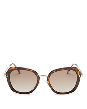 Tom Ford Women's Kenyan Polarized Geometric Sunglasses, 54mm
