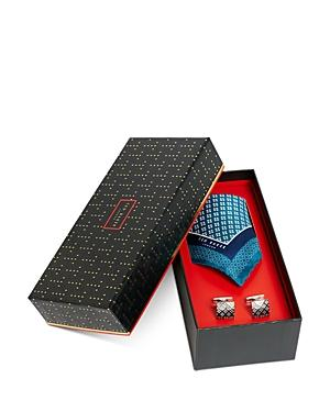Ted Baker Cufflinks & Pocket Square Gift Set