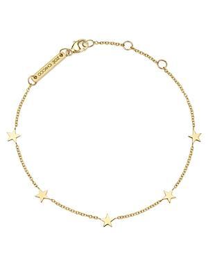 Zoe Chicco 14k Yellow Gold Star Bracelet