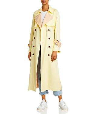 Notes Du Nord Olympic Leopard Print Trench Coat