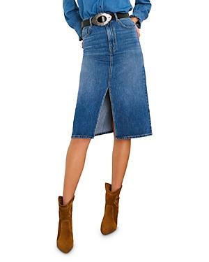 Ba & Sh Dona Denim Midi Skirt