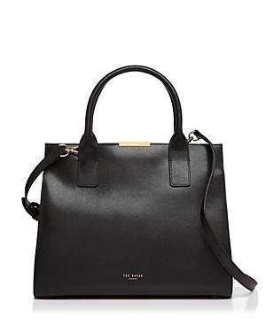 Ted Baker Cecilia Color Block Leather Satchel
