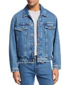 Hugo Distressed Denim Jacket