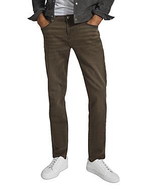 Reiss Kars Slim Jeans In Brown