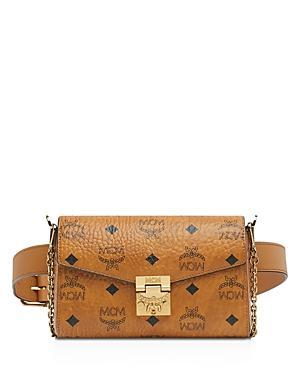 Mcm Patricia Visetos Convertible Belt Bag