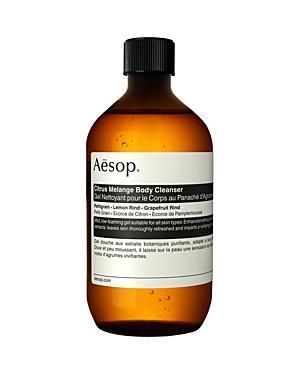 Aesop Citrus Melange Body Cleanser With Screw Cap 16.9 Oz.