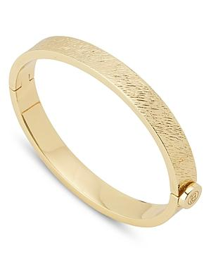 Gorjana Jax Textured Hinge Bangle Bracelet