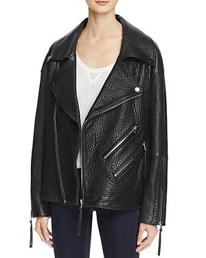 Rebecca Minkoff Brutus Leather Moto Jacket