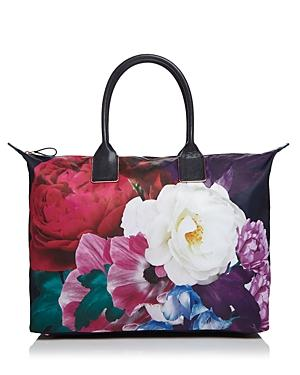 Ted Baker Paulina Blushing Bouquet Large Nylon Tote