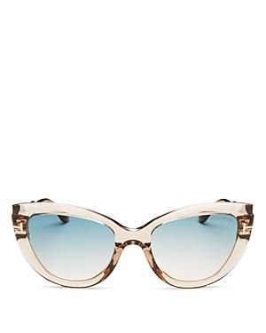 Tom Ford Women's Anya Cat Eye Sunglasses, 55mm