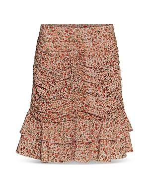 Vero Moda Mille Ruched Ruffled Skirt