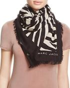 Marc Jacobs Zebra Stole Oversized Scarf